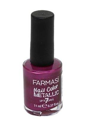 Farmasi Nail Color Metalic Oje 11 Ml. Blackberry
