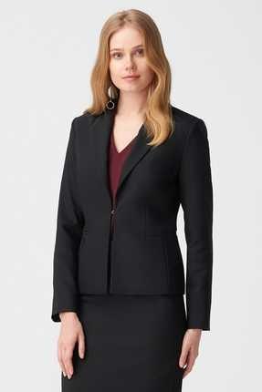 Naramaxx Kadın Siyah Ceket