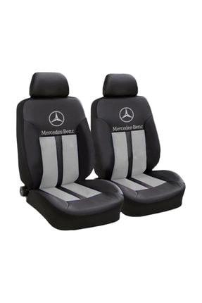 Space Mercedes Logolu Ön-arka Sport Oto Koltuk Kılıfı