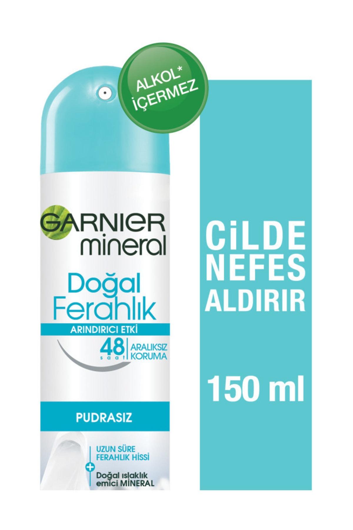 Garnier Mineral Doğal Ferahlık Aerosol 150 Ml 1