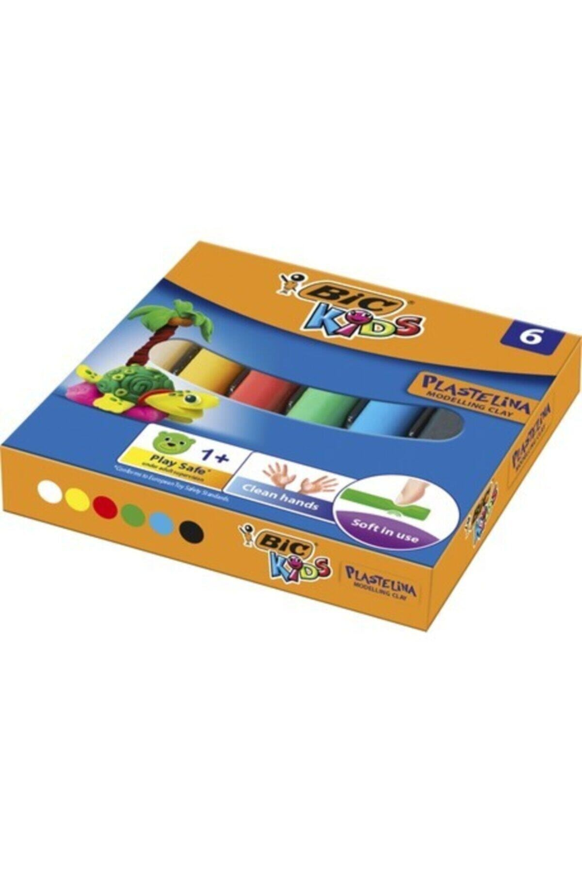 Bic Plastelina Kurumayan Oyun Hamuru 6 Renk 1