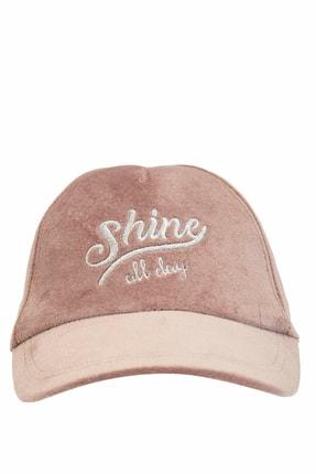 DeFacto Kadın Pembe Yazı Baskılı Şapka N7046AZ.20SM.PN1