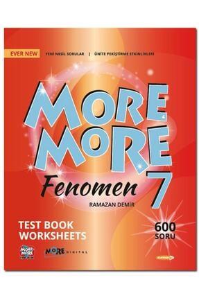 Kurmay Elt Yayınları 7.sınıf More More Englısh Fenomen Test Book Worksheets 2021