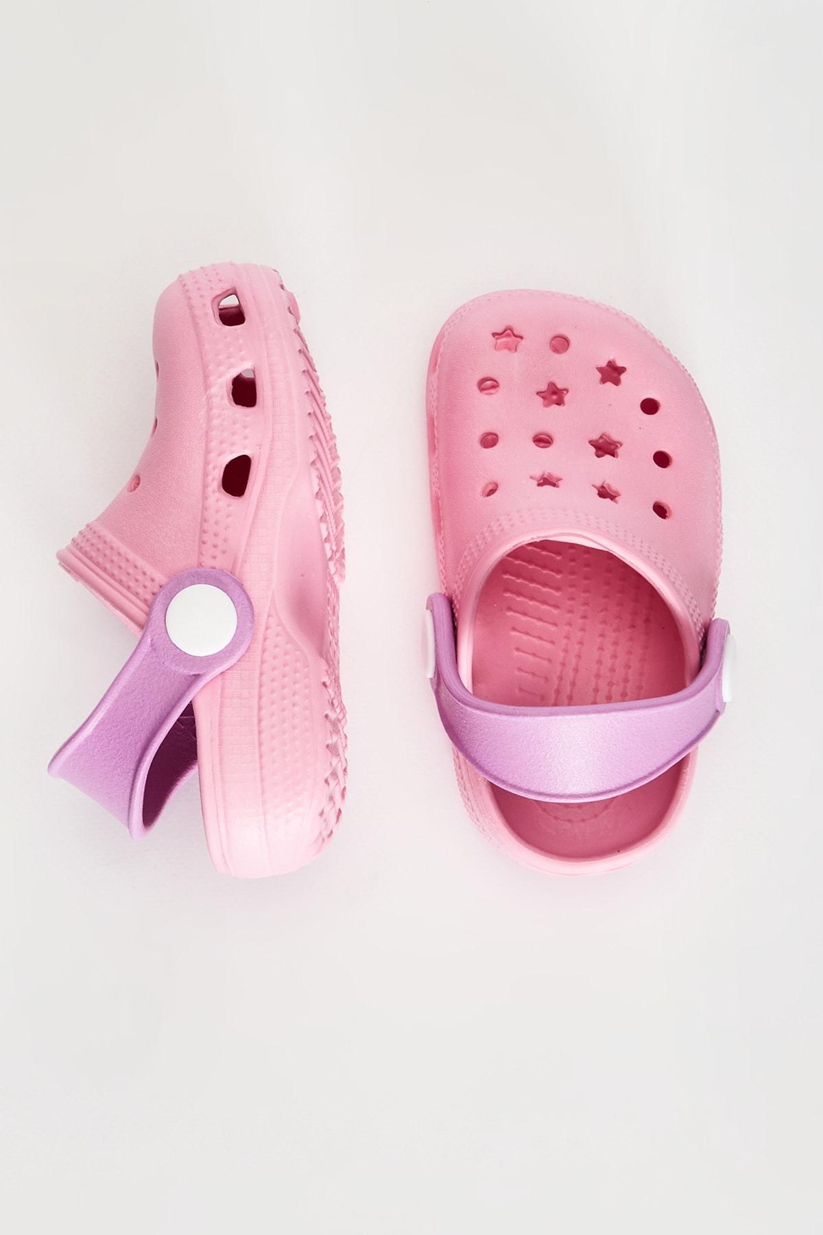 LC Waikiki Kız Bebek Pembe Cs3 Sandalet 2