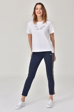 bilcee Beyaz Kadın T-Shirt GS-8623