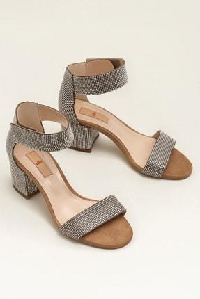 Elle Shoes TRESHA Açık Camel Kadın Sandalet