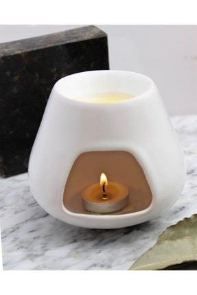 Bade Natural Aromaterapi Buhurdanlık Beyaz