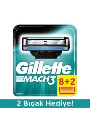 Gillette Mach3 Yedek Tıraş Bıçağı - 10'lu