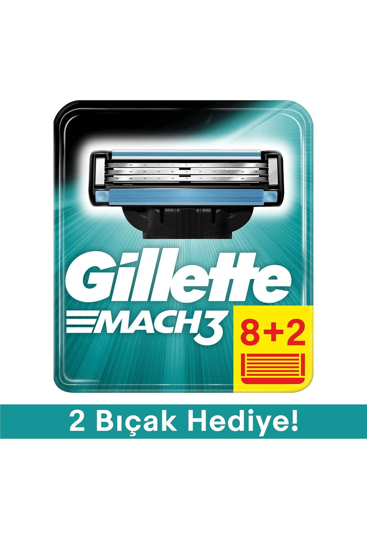 Gillette Mach3 Yedek Tıraş Bıçağı - 10'lu 1