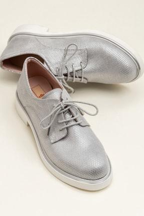 Elle Shoes MERITH-1 Gümüş Kadın Ayakkabı