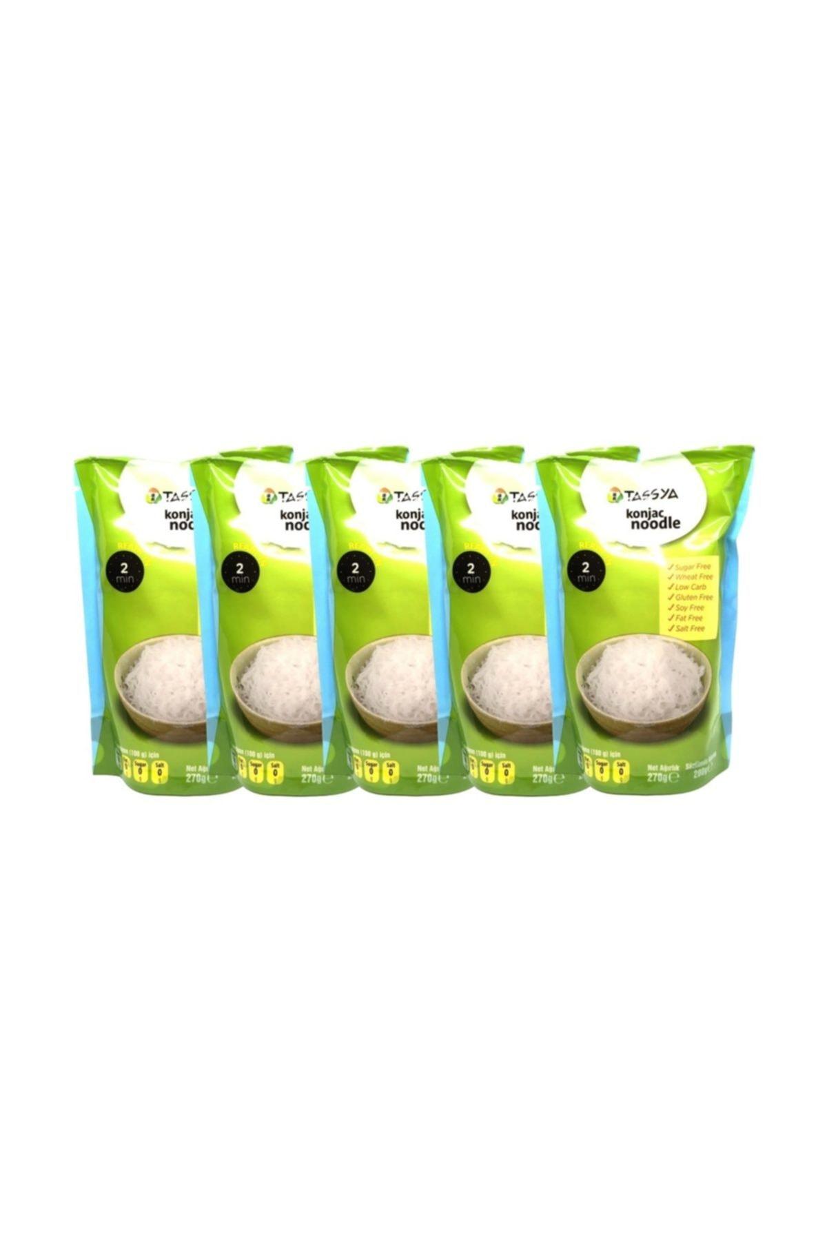 Tassya Shıratakı Noodle 270 Gr  X 5 Li 1