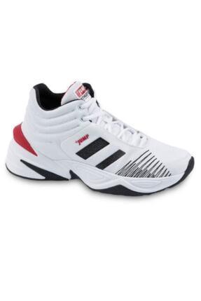 Jump Unisex Beyaz Basketbol Ayakkabısı 24774
