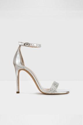 Aldo Kadın Gümüş  Yüksek Topuklu Sandalet