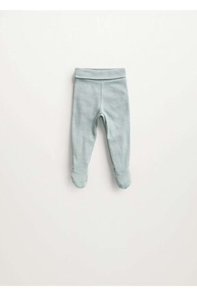 MANGO Baby Bebek Organik Pamuklu Ayaklı Pantolon
