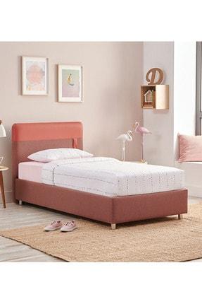 Yataş Bedding Loris Sandıklı Yatak Baza Başlık Genç Seti - Fresh Sense Yatak - Tek Kişilik - Gül Kurusu