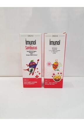 Orzax Imunol Şurup 150 ml + İmunol Sambucus Şurup 150 ml Sınav Seti
