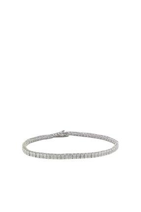 Söğütlü Silver Kadın 925 Ayar Gümüş Rodyumlu Su Yolu Bileklik SGTL2736