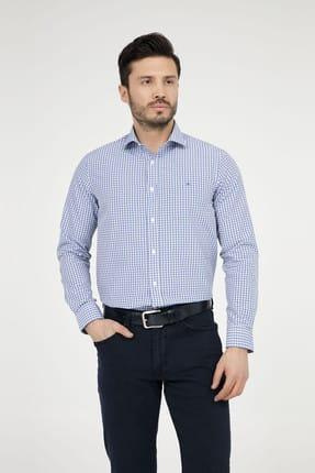 Abbate Erkek Orta-Mavi Gömlek - 1Gm91Uk1231S 568