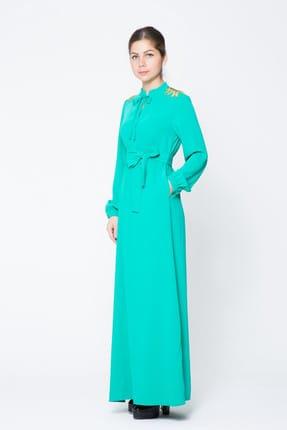 GIZIA CASUAL Kadın Uzun Gömlek Elbise M17KEZ12912VJ