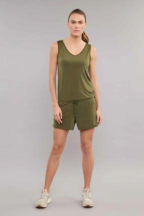 bilcee Yeşil Kadın Tulum ES-3635