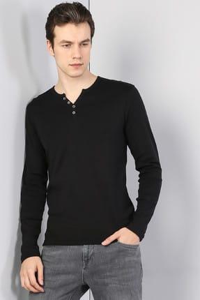 Colin's Siyah Erkek Tshirt U.kol CL1022847