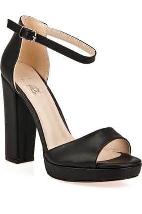 Ziya Siyah Kadın Topuklu Ayakkabı 9176 1167