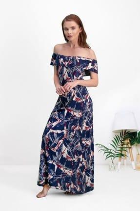 Pierre Cardin Lacivert Kadın Elbise