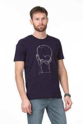 Ramsey Baskılı Örme T-Shirt - RP10113923