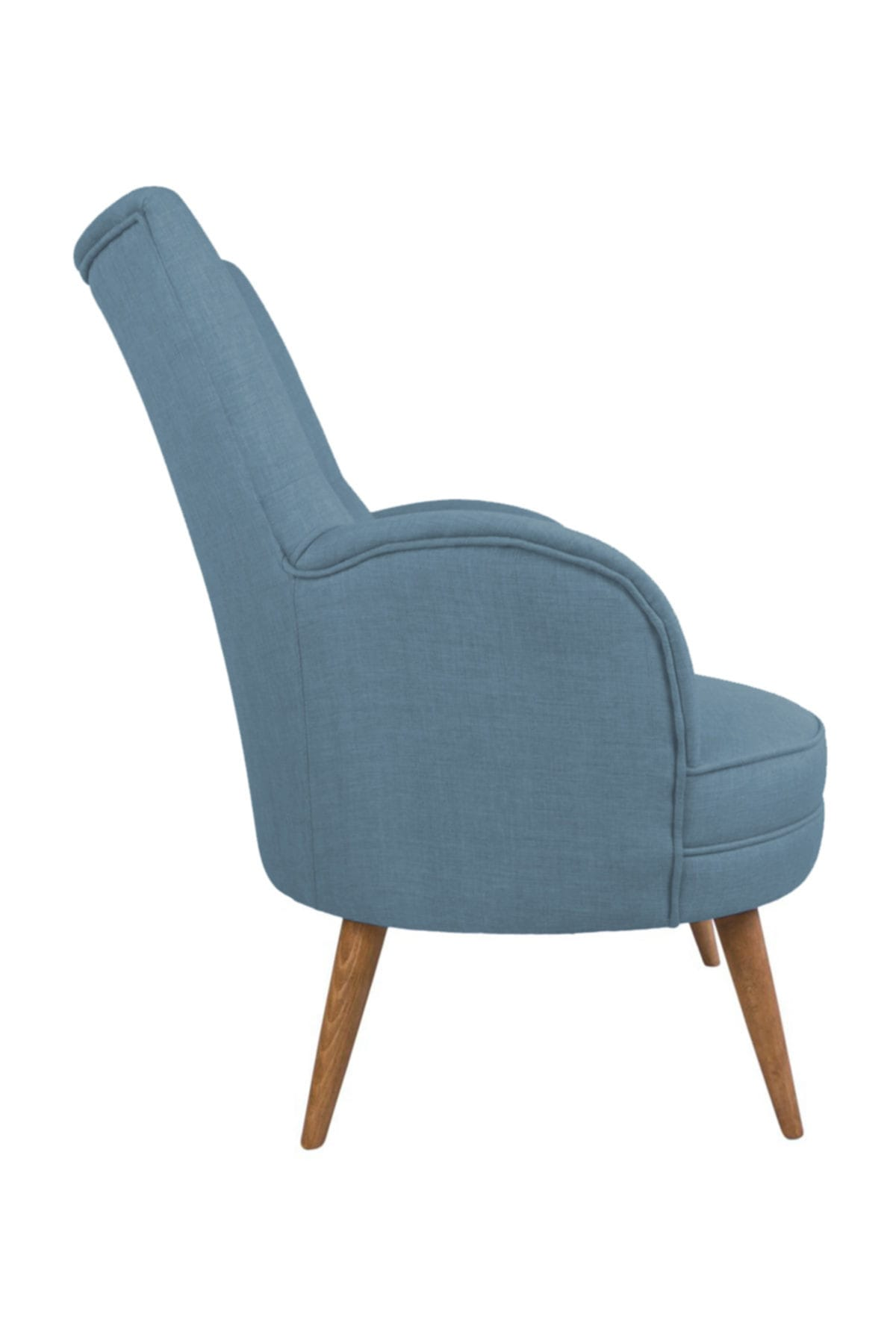 Ze10 Design Victoria Tekli Koltuk Gece Mavisi 2
