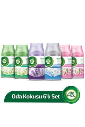 Air Wick Oda Kokusu Freshmatic Makine Yedek Spreyi 6 Al 4 Öde 6x250 ml