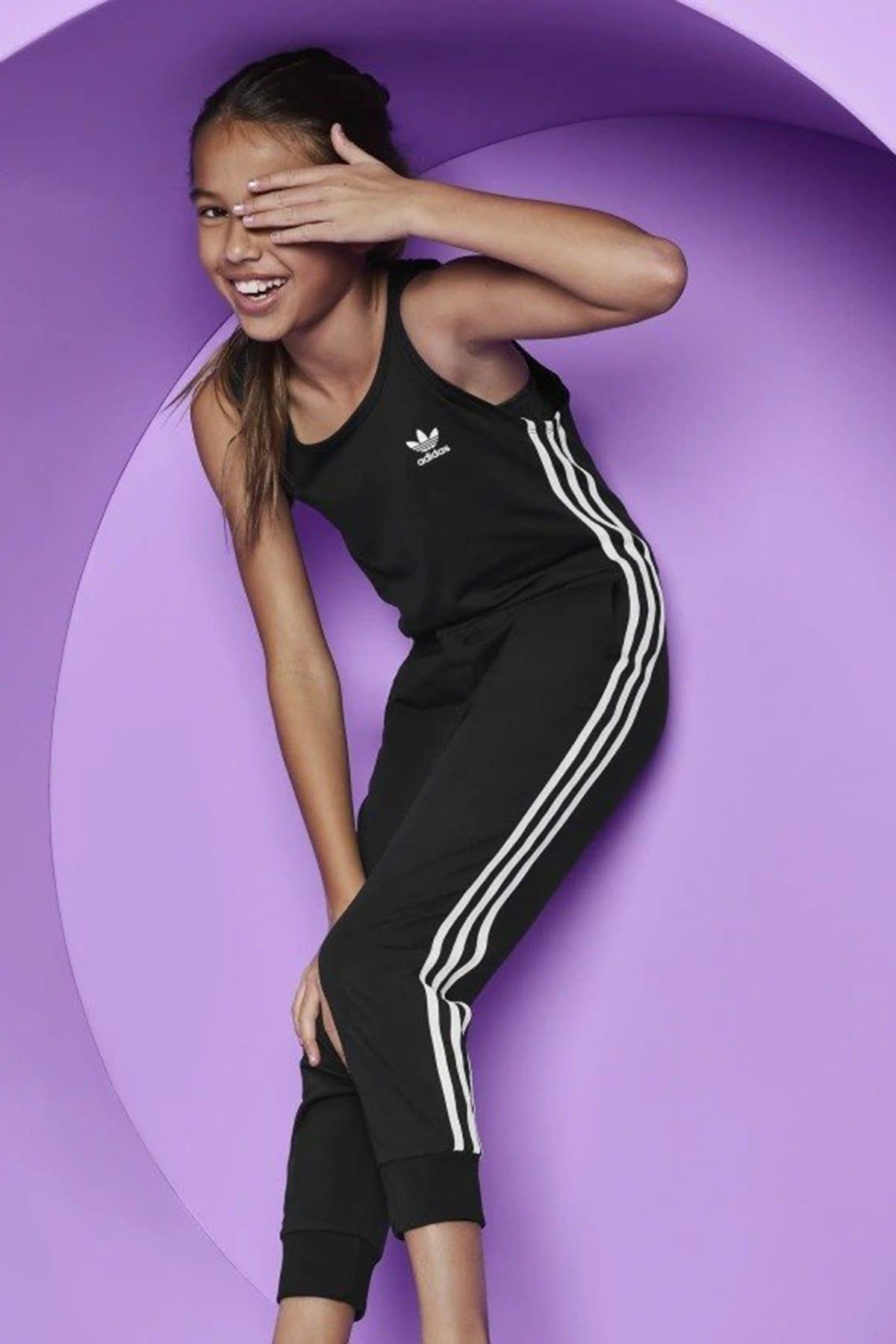 adidas Siyah Unisex 3-Stripes Js Tulum 1