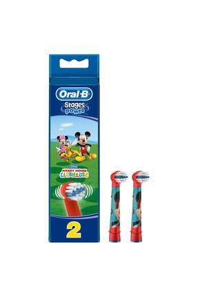 Oral-B Stages Çocuklar İçin Diş Fırçası Yedek Başlığı Mickey