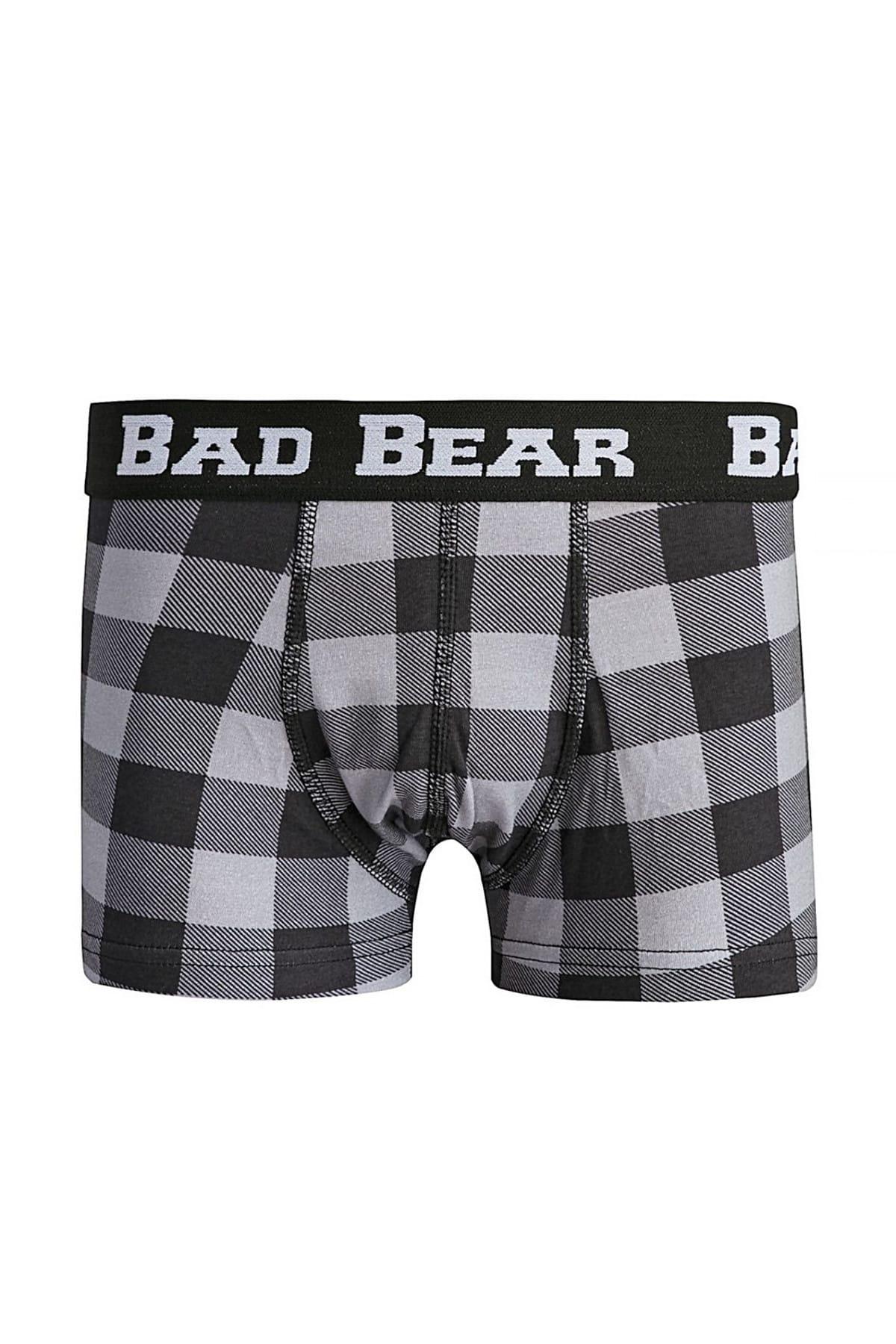 Bad Bear CHECKED NAVY 2