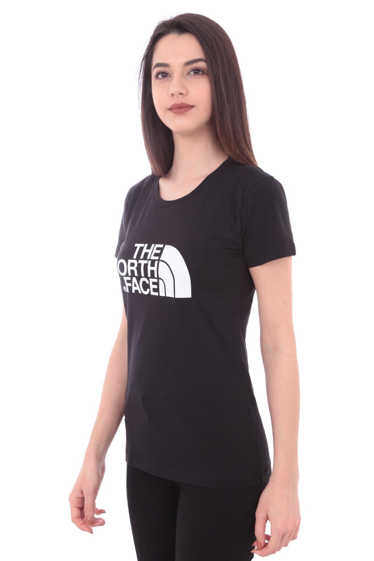 THE NORTH FACE Kadın Siyah Easy Tee Tshirt T0c256jk3 2