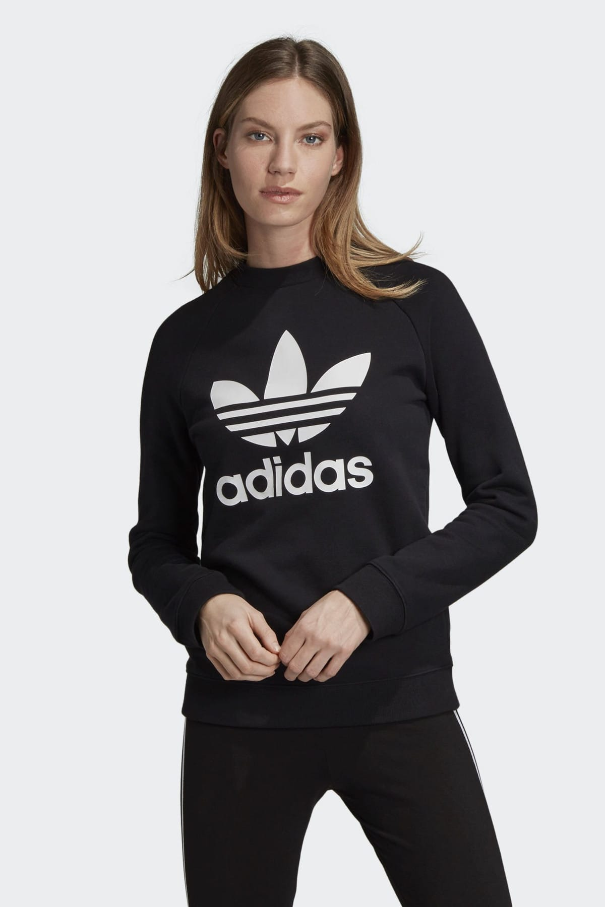 adidas Kadın Originals Sweatshirt - Trf Crew Sweat - DV2612 1