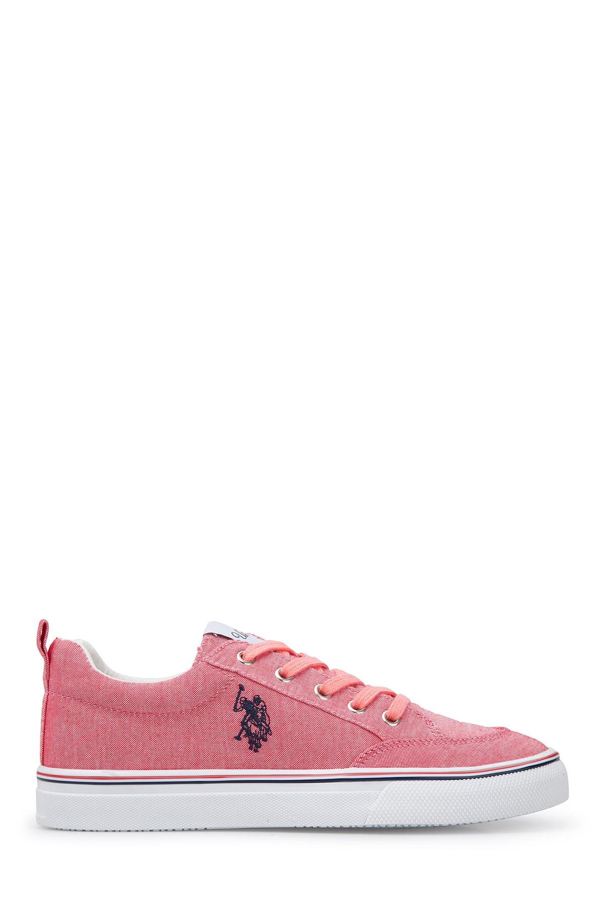 U.S. Polo Assn. Pembe Kadın Ayakkabı CAROL 1