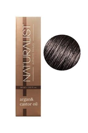 Naturalist Kalıcı Saç Boyası 60 Ml - 4.0 Kestane 1 Adet 60ml Oksidan Hediye!!