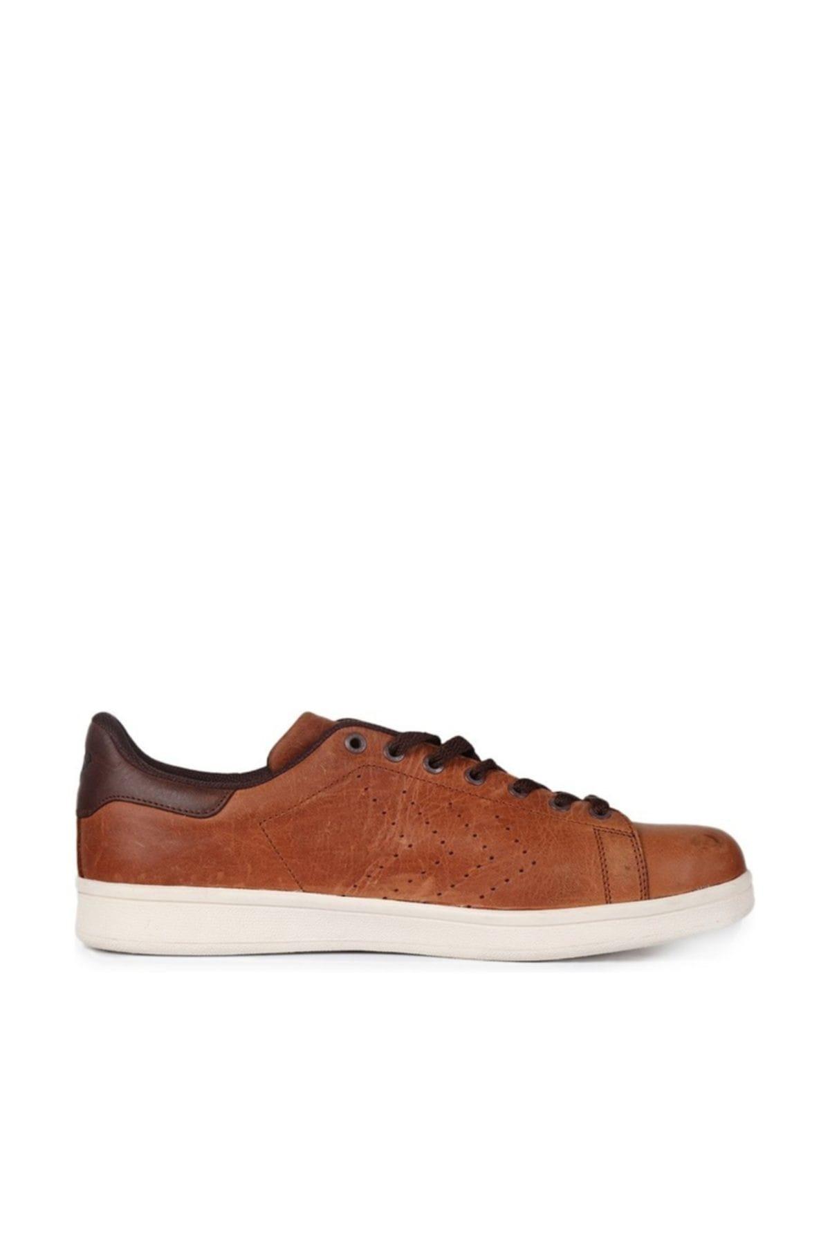 HUMMEL Walter 2 Kahverengi Erkek Deri Sneaker Ayakkabı 100352372 1