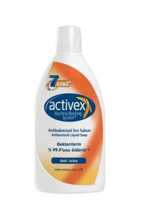 Activex Antibakteriyel Sıvı Sabun 1 Lt.