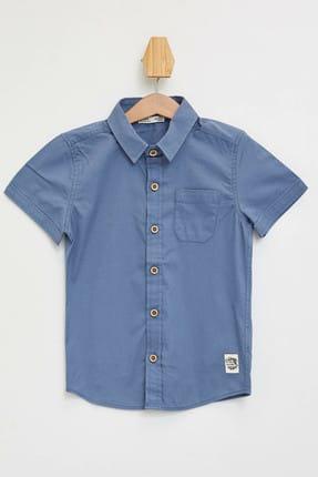 DeFacto Erkek Çocuk Polo Yaka Kısa Kollu Pamuklu Gömlek