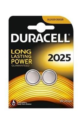 Duracell Lithium Pil 2'li 2025 3V DL2025/CR2025