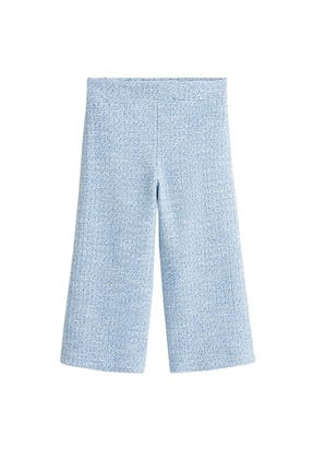 MANGO Kids Mavi Kız Çocuk Pantolon 43095801