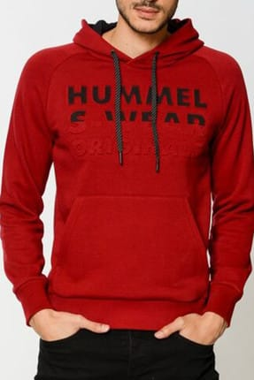 HUMMEL Erkek Sweatshirt Hmlloka Hoodie