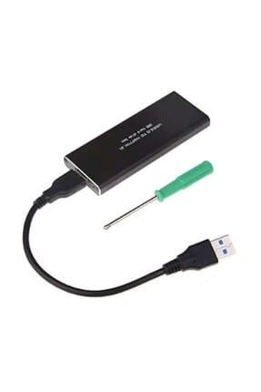 Appa MSATA 2 SSD M2 M.2 USB3.0 NGFF HARDDİSK KUTUSU SATA SRF-MSATABOX