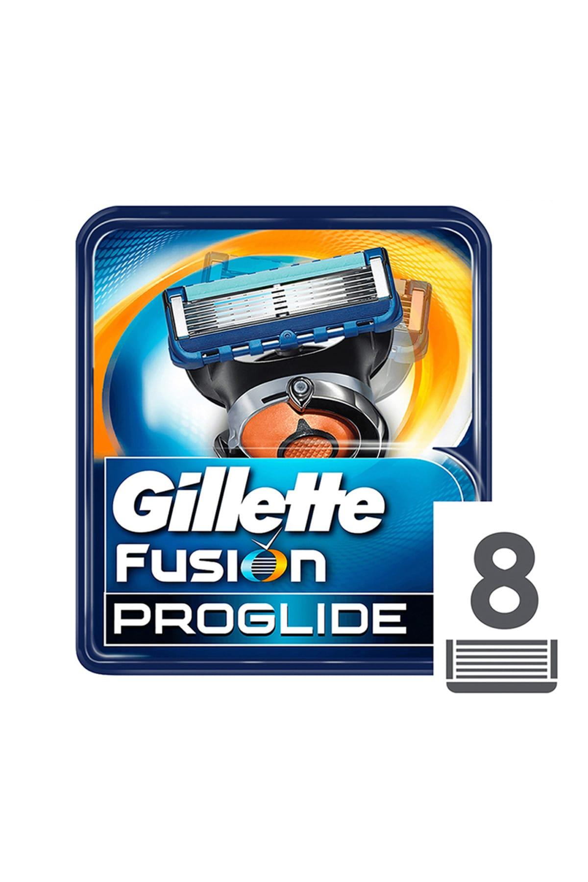 Gillette Fusion Proglide Manual Yedek 8'li 1