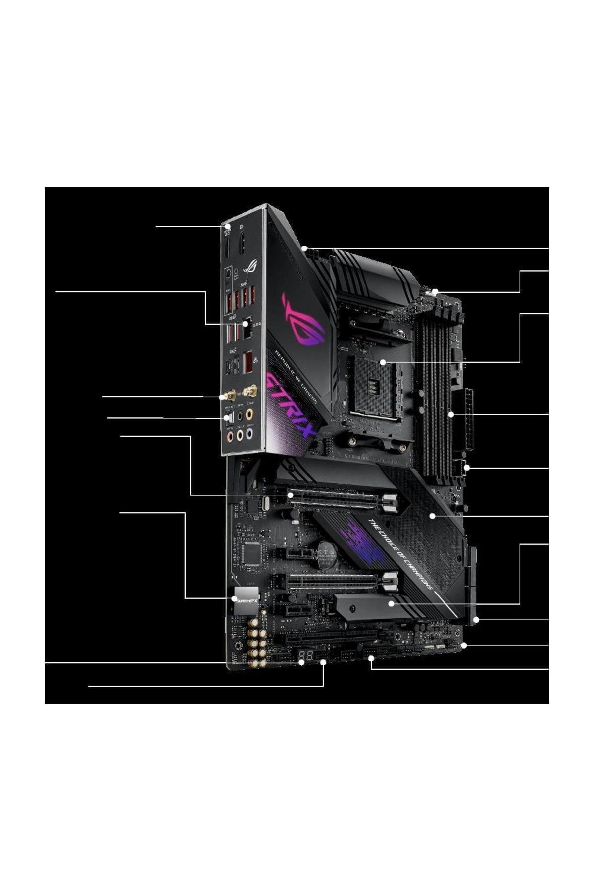 ASUS ROG Strix X570-E Gaming AM4 ATX Anakart 2
