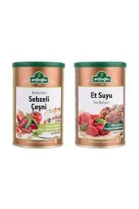 Arifoğlu Sebzeli Çeşni 220 gr (Tnk) + Et Suyu Toz Bulyon 250gr (Tnk)