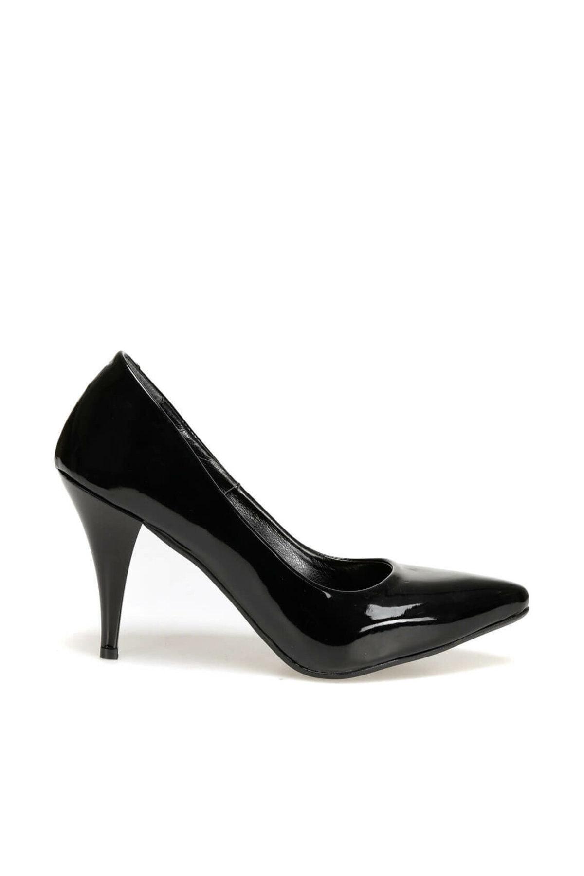 Miss F N16101-19K Siyah Kadın Stiletto 100441731 2