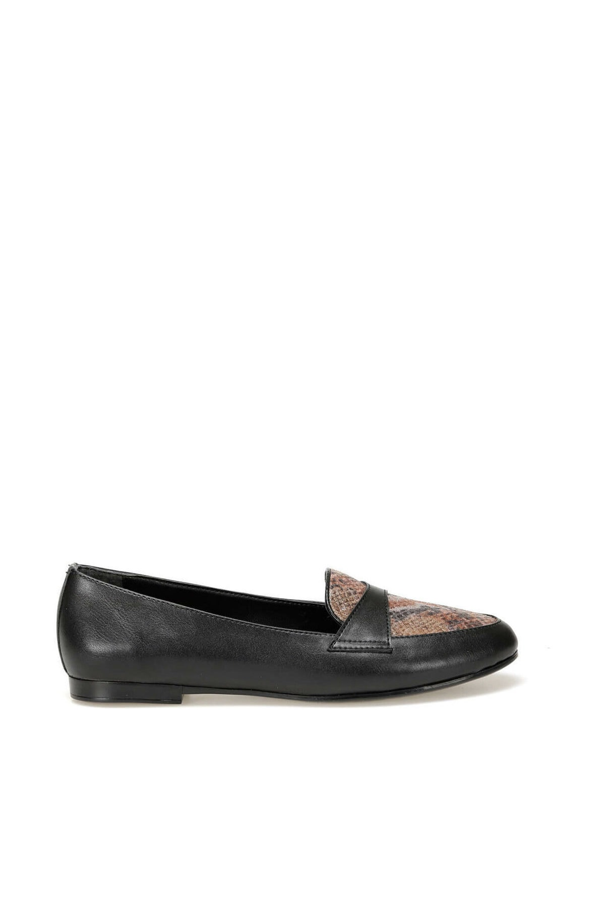 Miss F DW19083 Siyah Kadın Loafer Ayakkabı 100440363 2