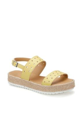 ART BELLA CS19137 Sarı Kadın Sandalet 100382491
